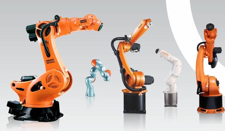KUKA – encuentre el robot que necesita