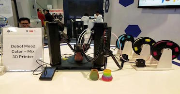El novedoso DOBOT MOOZ-3, impresión 3D en color