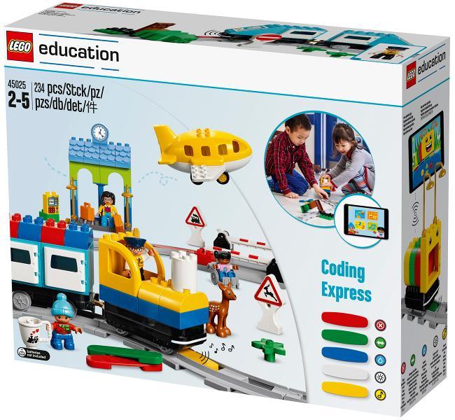 Coding Express, la nueva herramienta de LEGO Education para Educación Infantil