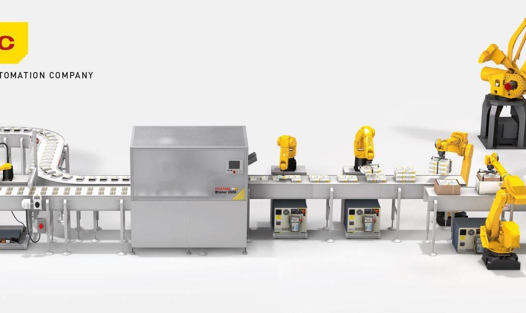 FANUC presenta soluciones robóticas para la Industria Farmacéutica en Farmaforum