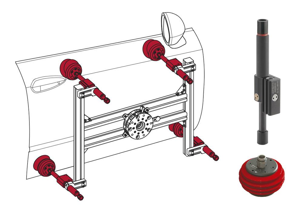 GIMATIC innova con un sistema de prensión que se adapta a la forma del producto