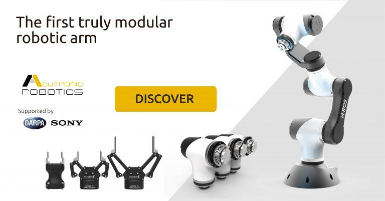 MARA, el brazo robótico modular con ROS 2 nativo en cada uno de sus módulos