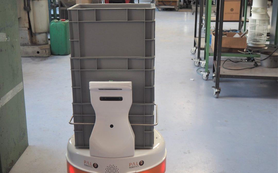 PAL Robotics en Advanced Factories: soluciones robóticas para optimizar la industria de hoy