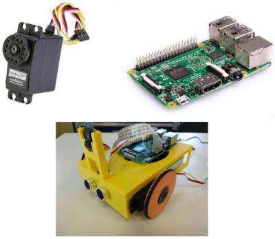 Taller de programación de robots con visión artificial