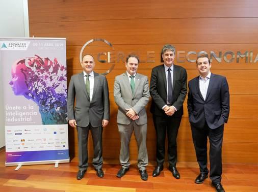 Advanced Factories reúne a todo el sector industrial para impulsar su competitividad de la mano de la industria 4.0