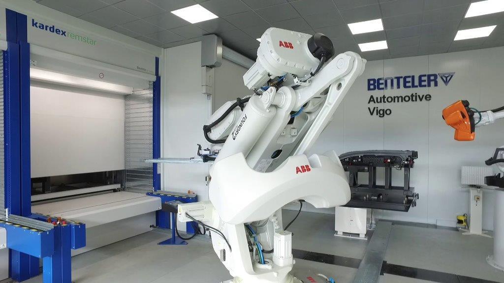 Benteler incorpora la medida del éxito automatizando el control de calidad y el proceso de inspección con la tecnología ABB