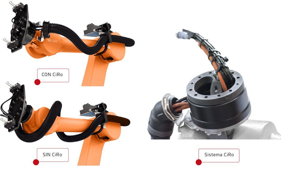 GIMATIC Iberia presenta CiRo de RSP. Una solución económica y eficaz para resolver los problemas con el cableado interno de los robots.