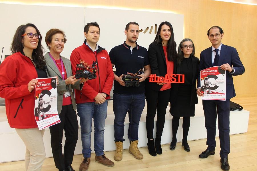 La tercera edición del desafío ASTI Robotics vuelve a situar a Burgos como capital de la robótica móvil en España