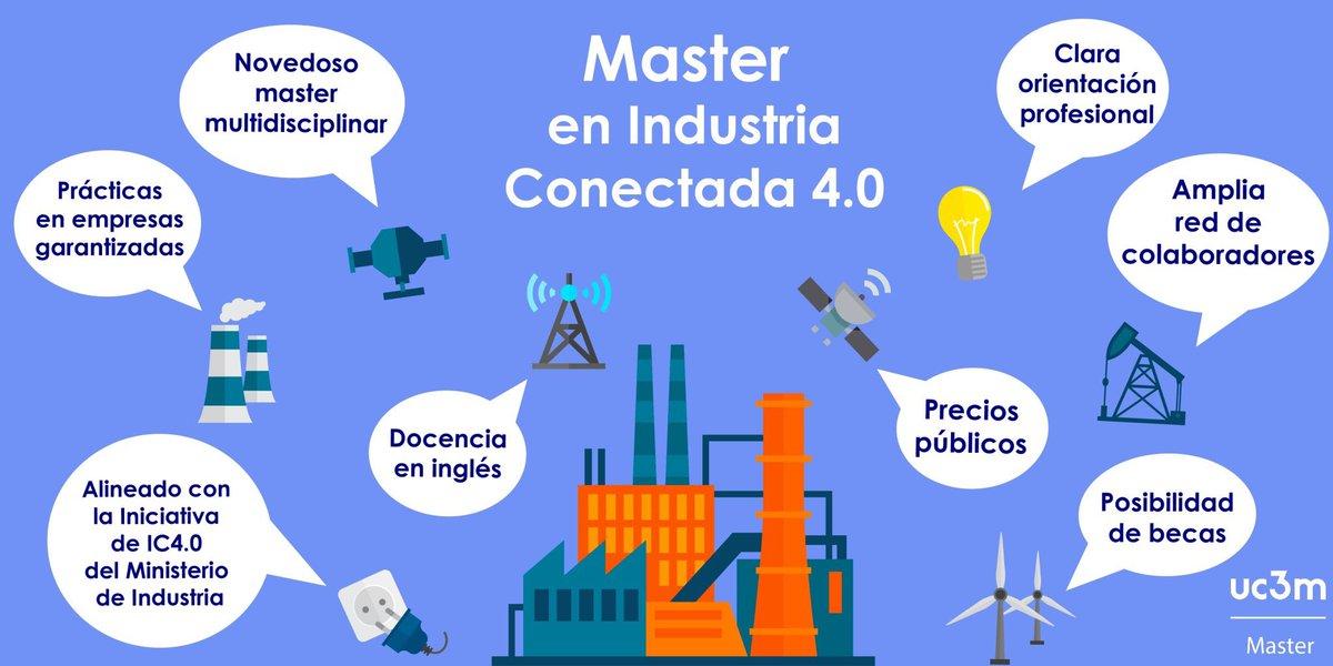 La Universidad Carlos III de Madrid (UC3M) lanza un Máster en Industria Conectada 4.0