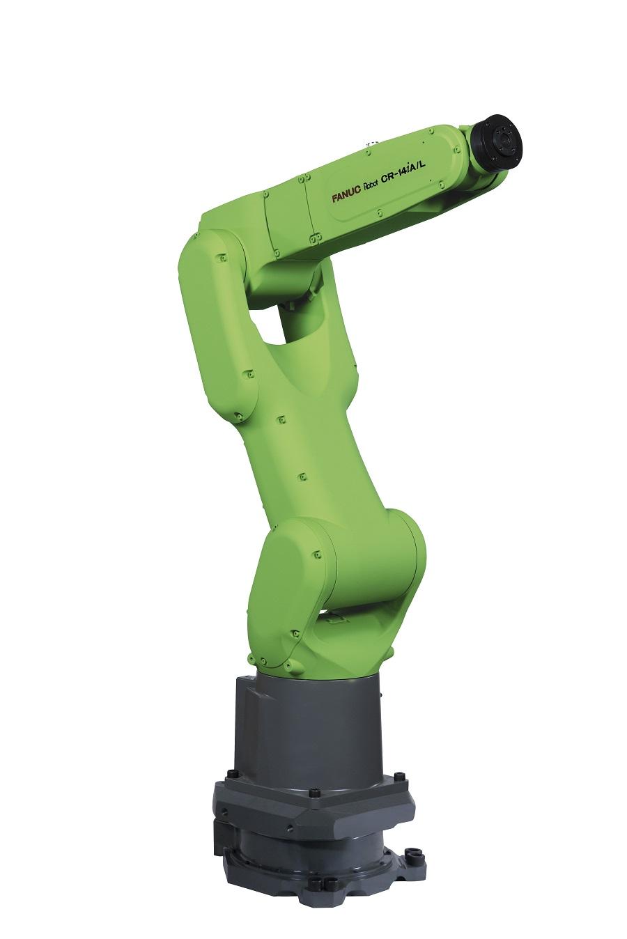 FANUC presenta su nuevo robot colaborativo CR-14iA/L en Hannover Messe