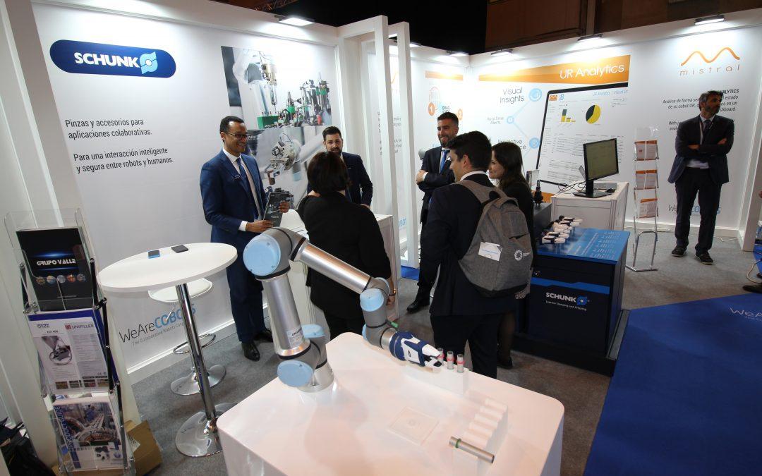 SCHUNK presenta sus sistemas de agarre para aplicaciones colaborativas en la Global Robot Expo