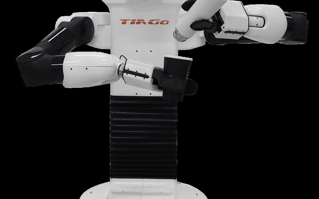 TIAGo++, el nuevo robot para tareas de bi-manipulación!