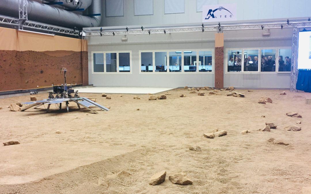 GMV asiste a la inauguración del centro de control de operaciones del rover de Exomars