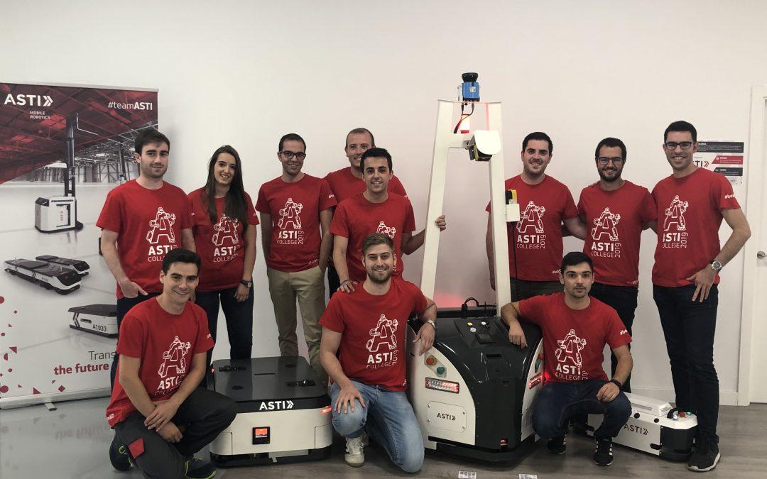ASTI Mobile Robotics incorpora a doce ingenieros recién titulados dentro del programa ASTI College19