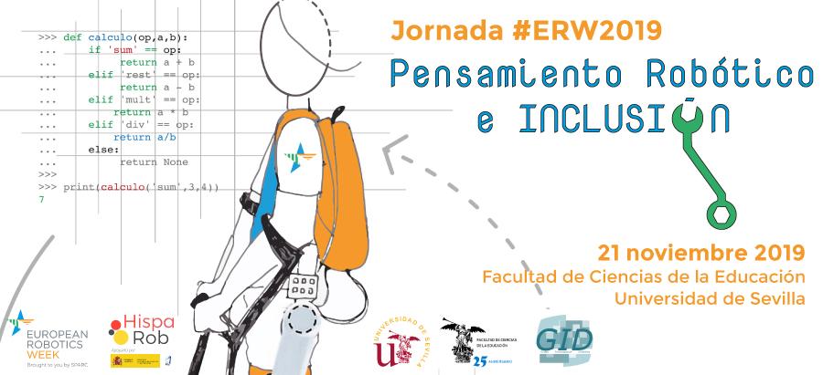 "Jornada #ERW2019 ""Pensamiento Robótico e Inclusión"""