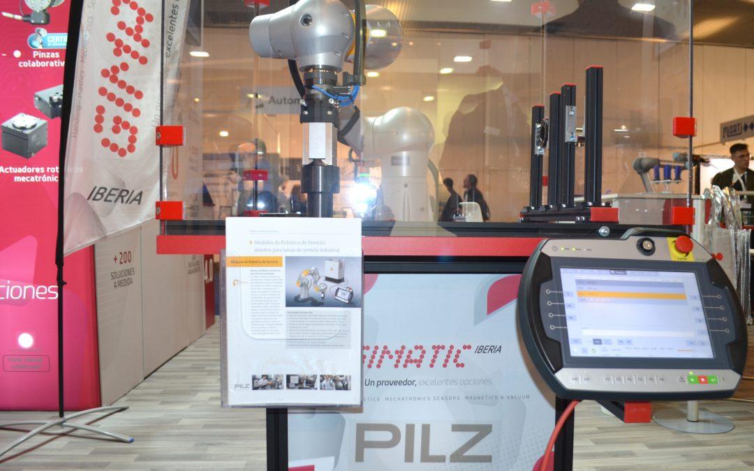 Pilz y Gimatic inician una colaboración en robótica segura