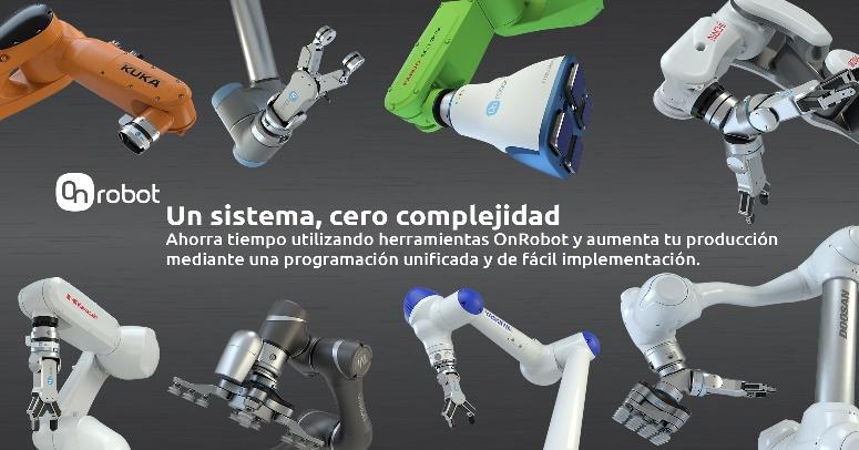 OnRobot extiende la compatibilidad de sus efectores finales con el lanzamiento de su nueva solución One-System
