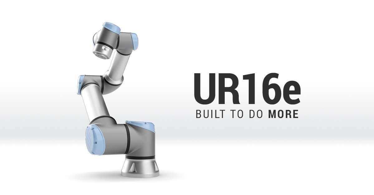 Crece la familia e-Series de Universal Robots con un cobot para cargas pesadas