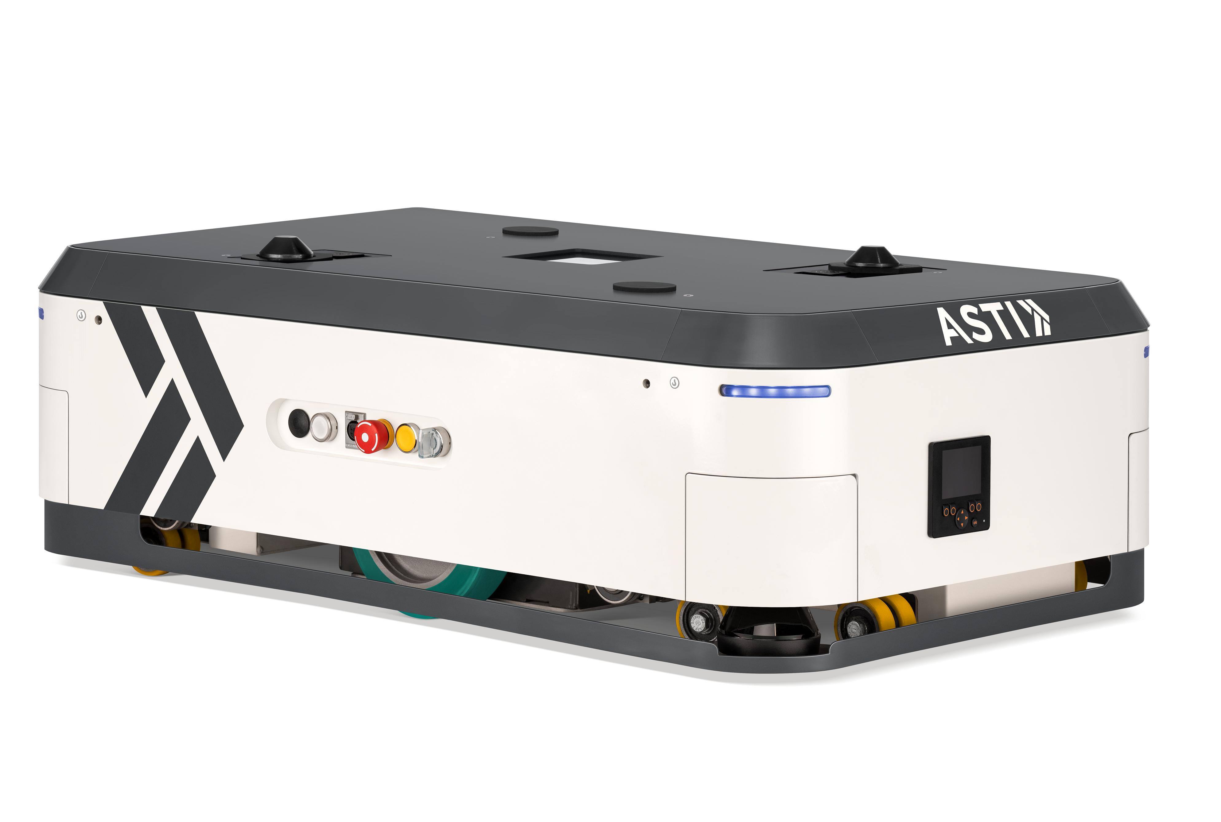 ASTI Mobile Robotics presenta sus últimas innovaciones en robótica móvil en Logistics (Madrid) y Europack Lyon y BE 4.0 Salon Industries du Futur Mulhouse (Francia)