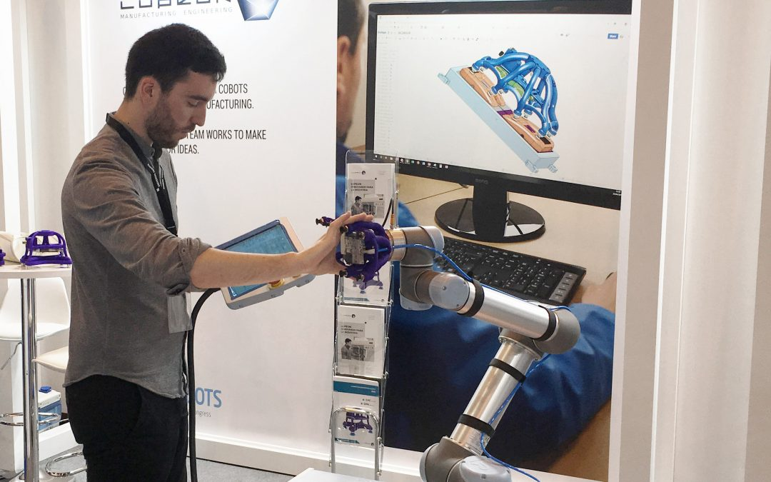Las garras hechas en España LU_Grippers logran el certificado Universal Robots+