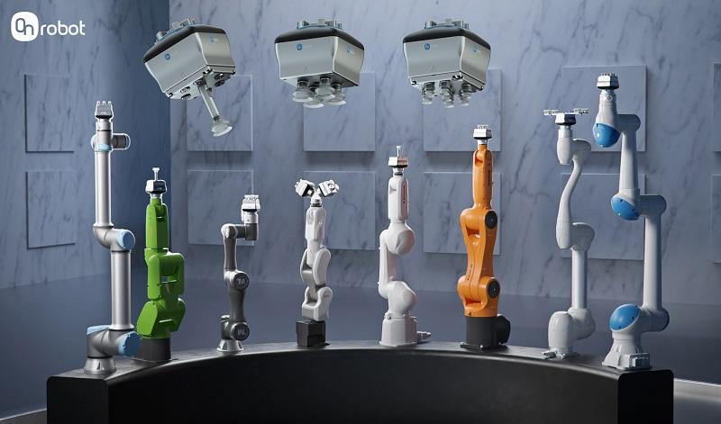 OnRobot presenta VGC10 Compact, una pinza eléctrica por vacío altamente personalizable