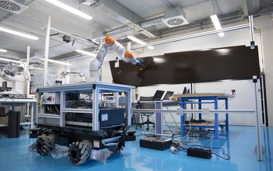 Robótica colaborativa para inspección aeronáutica