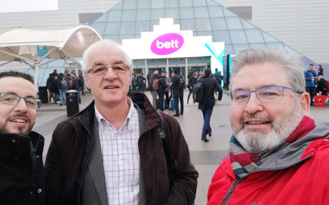 El Grupo Temático de Robótica Educativa Visitó BETT
