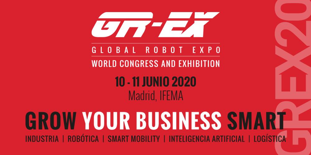 Global Robot Expo aplaza la celebración de su feria internacional hasta junio por el Coronavirus