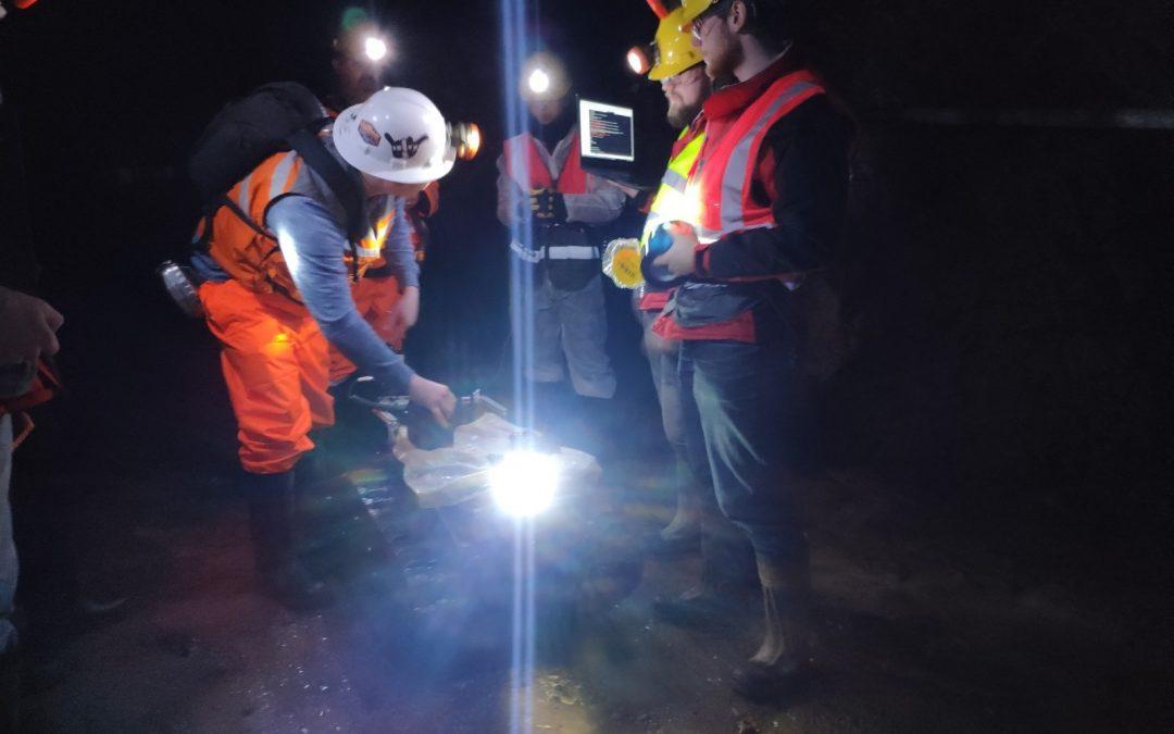El róver BEAST completa satisfactoriamente un test en la mina de Cornwall