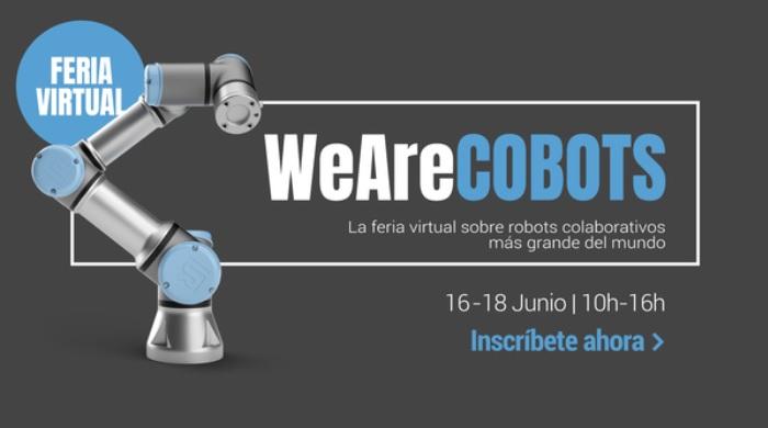 WeAreCOBOTS: feria virtual sobre robots colaborativos