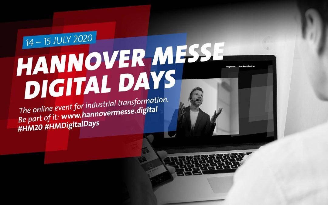 Hannover Messe: evento Digital Julio 2020 y nueva edición 2021