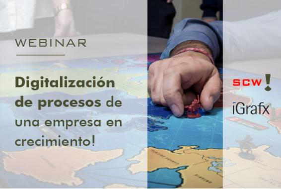 webinar: digitalización de procesos de una empresa en crecimiento