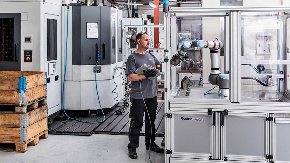 Universal Robots ayuda a BWIndustrie a mejorar su productividad y mantener la fabricación en Francia