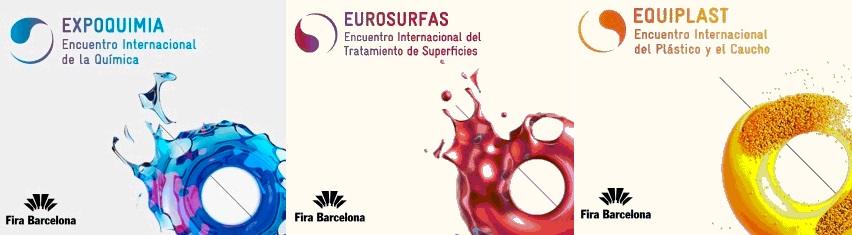 Nuevo cambio de fechas para Equiplast, Expoquimia y Eurosurfas