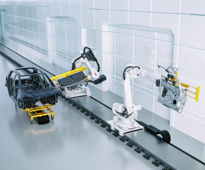 ABB Dynamic Assembly Pack proporciona la última pieza que falta en la automatización de las aplicaciones de ensamblaje de molduras finales