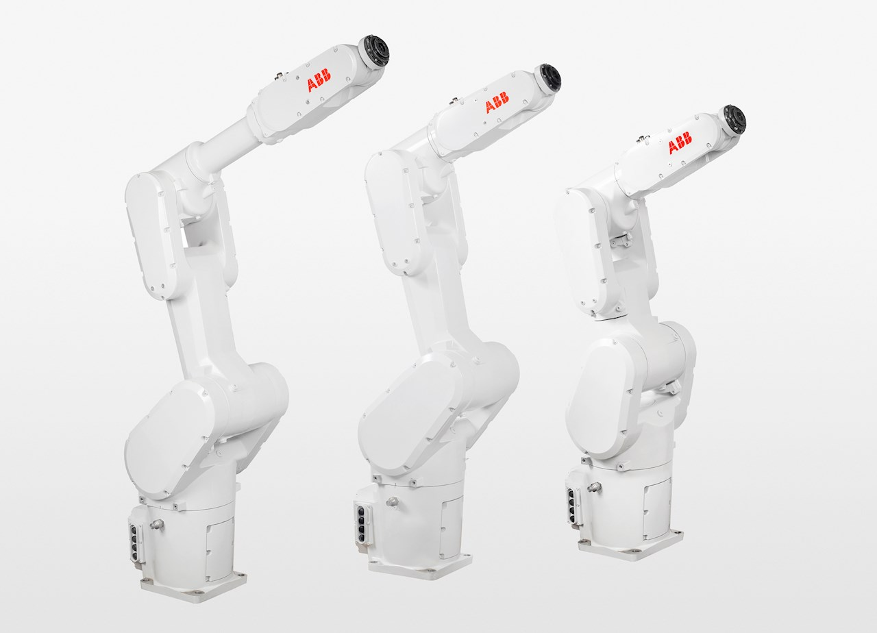 ABB expands small robot family with fast and powerful IRB 1300 for confined spaces