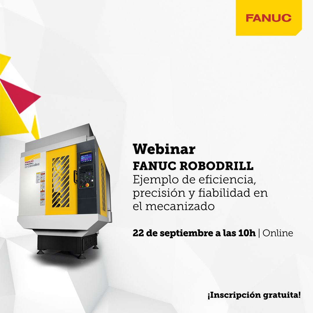 FANUC continúa con su programa de webinars que comenzó en abril