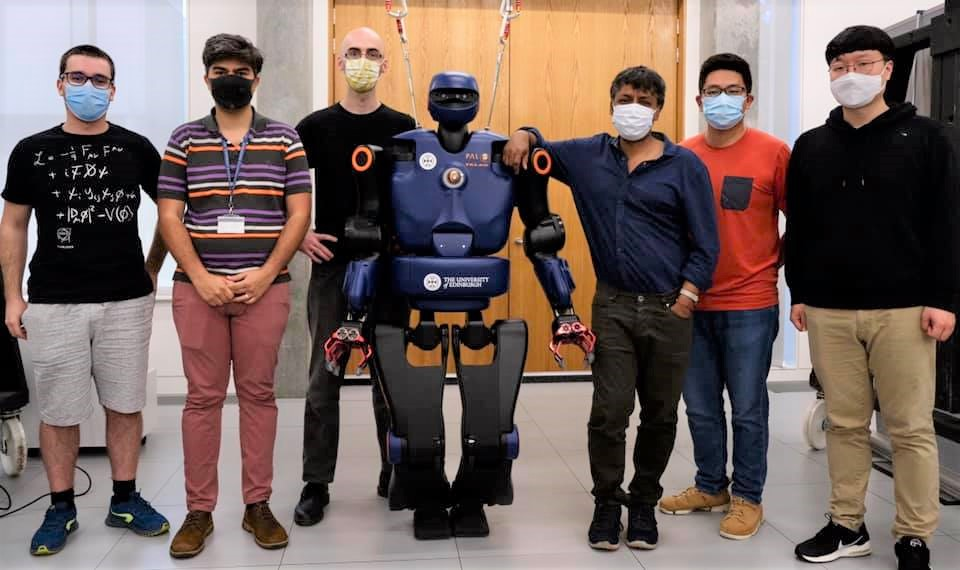TALOS joins the robotics family at Edinburgh University