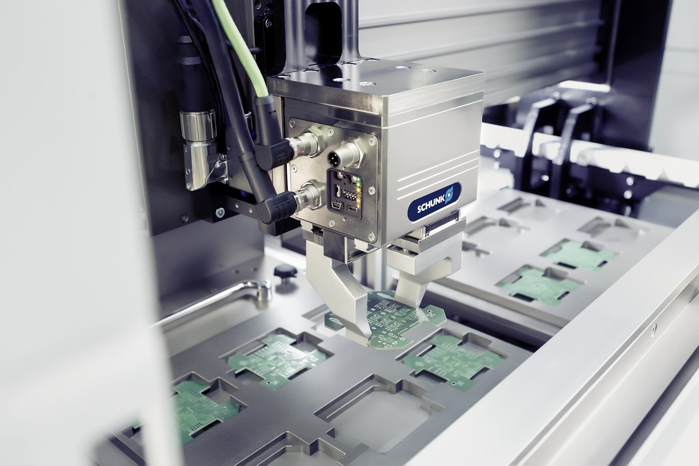 SCHUNK da un paso adelante para una fabricación inteligente