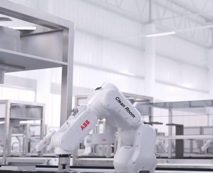 ABB establece un nuevo punto de referencia para la automatización de aplicaciones de salas blancas