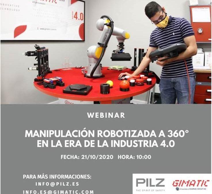 WEBINAR Soluciones de manipulación robotizada en la era de la Industria 4.0
