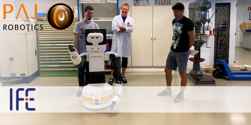 TIAGo ayuda al IFE en Noruega a explorar las percepciones humanas y de HRI de los robots