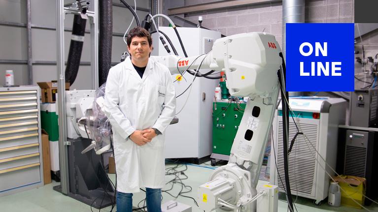 """Webinar """"Caracterización y mejora de las prestaciones de robots industriales"""""""