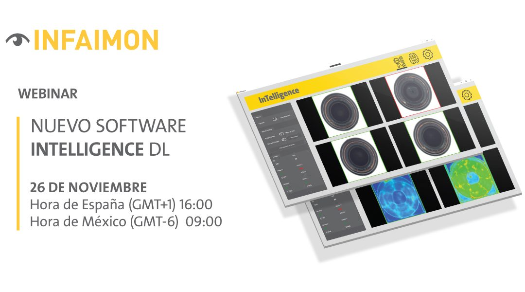"WEBINAR INFAIMON ""Nuevo software InTelligence Deep Learning"""