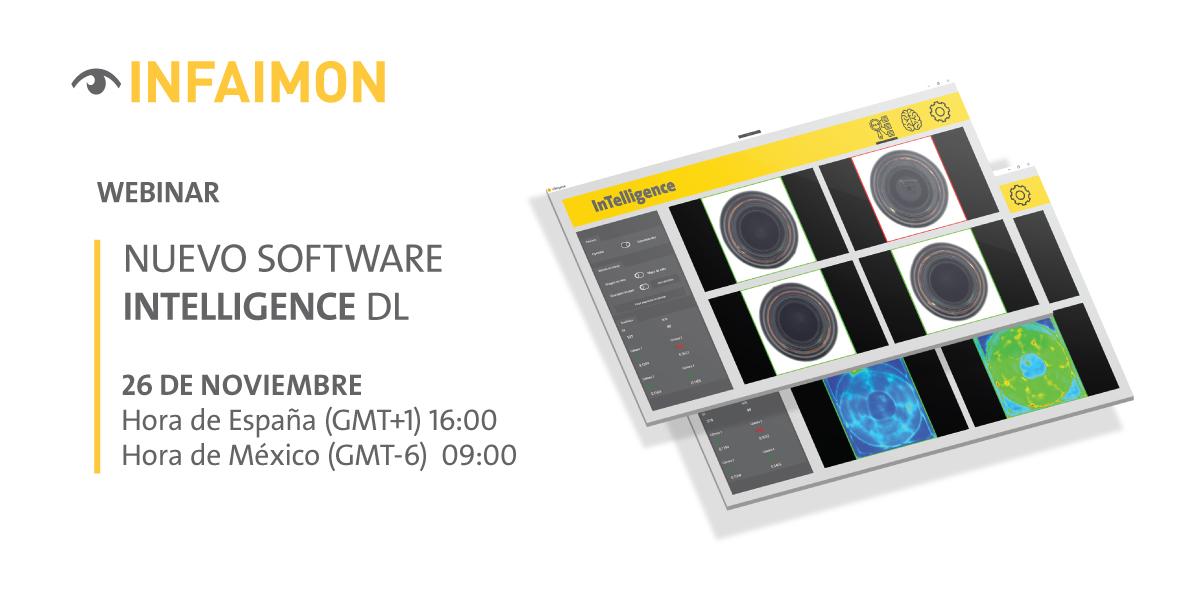 """WEBINAR INFAIMON """"Nuevo software InTelligence Deep Learning"""""""