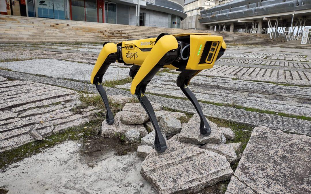 Spot, el robot cuadrúpedo más avanzado del mundo, llega a España