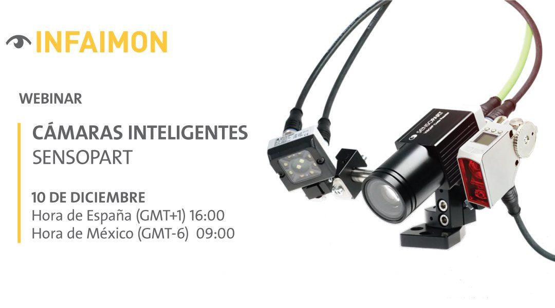 """INFAIMON nos presenta su último webinar del año """"Cámaras inteligentes – VISOR Sensopart"""""""