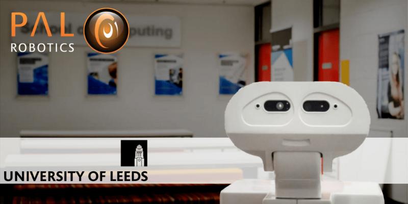TIAGo en la Universidad de Leeds en RoboCup y simulaciones