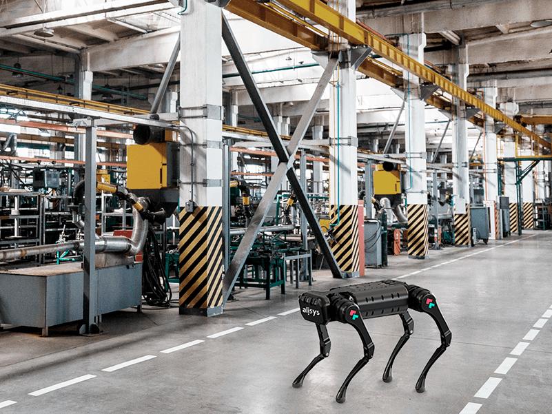 Alisys se convierten en distribuidor de Unitree y de su robot dinámico A1