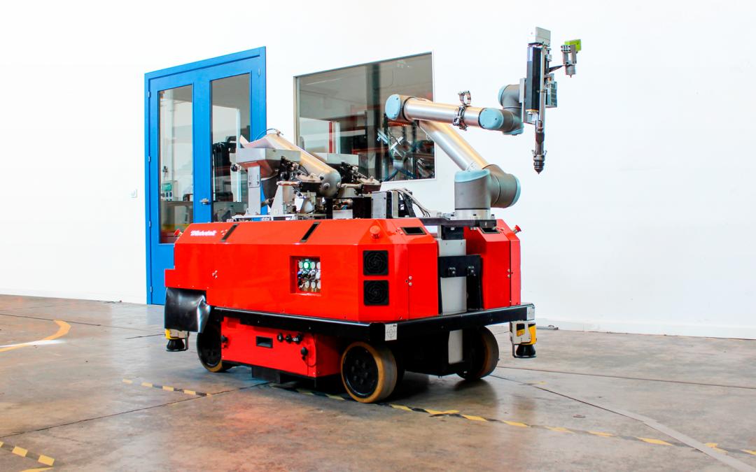 Robots móviles en la Industria 4.0: automatización y flexibilidad